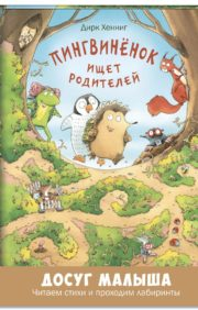 Пингвиненок ищет  родителей: развивающая книжка с лабиринтами