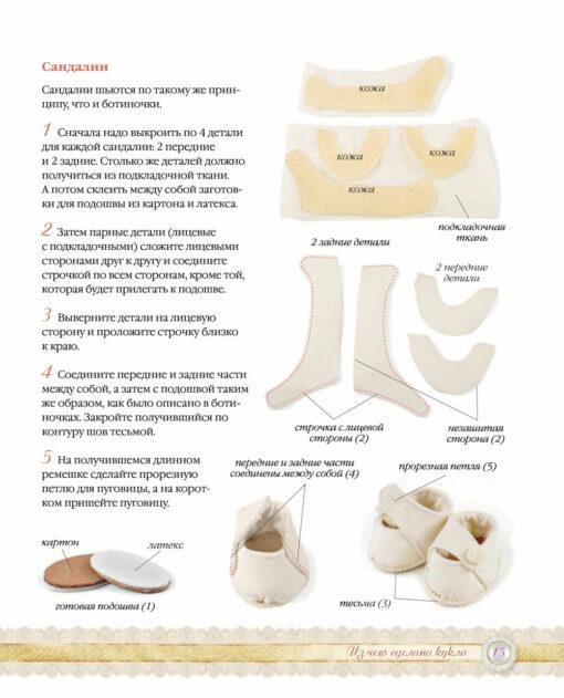 Французский  гардероб для текстильной куклы. Полное практическое руководство.  Мастер-классы и выкройки